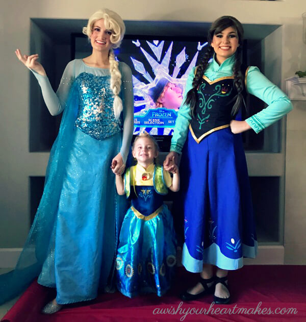 Frozen parties, Elsa parties, Princess Anna parties, Central Coast & Valley, California