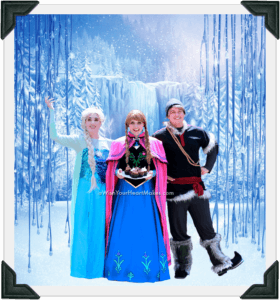 Anna, Elsa, Kristoff, Frozen Parties, Central Valley & Central Coast, California