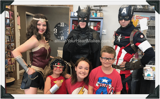 Superhero parties, Central Valley