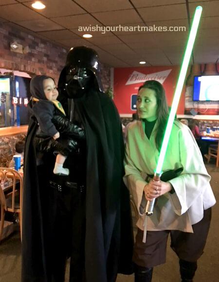 Star Wars parties, Central Coast & Valley, California