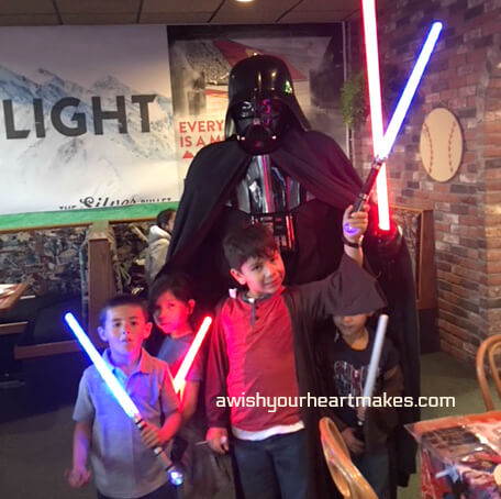 Star Wars parties, Central Coast & Valley, California