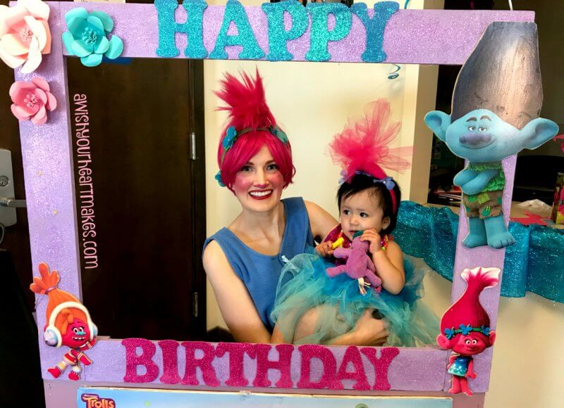 Poppy parties, Trolls parties, Central Valley & Coast, California