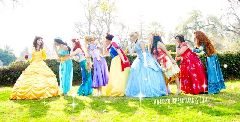 Princess parties, Central Valley & Central Coast, California