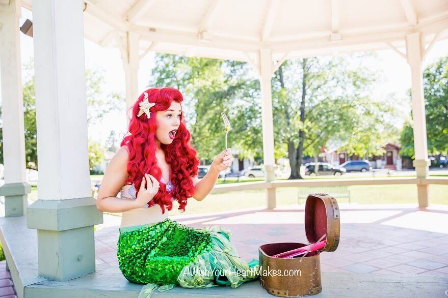 Ariel from Little Mermaid parties, Central Valley & Coast, California