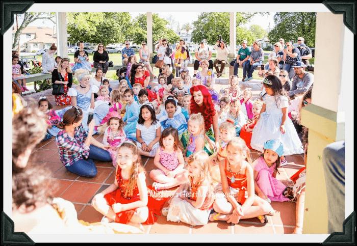 Princess parties, Central Valley & Coast, California