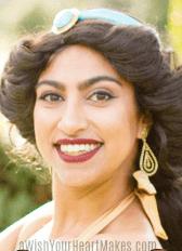 Jasmine from Aladdin parties, Central Valley & Coast, California