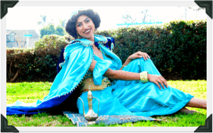 Jasmine from Aladdin parties, Central Valley & Coast, California