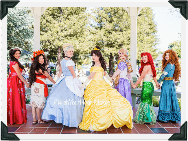 Princess Parties, Central Valley & Coast, California