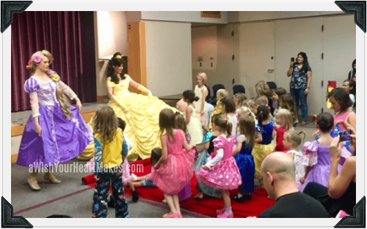 Princess parties, Central Valley