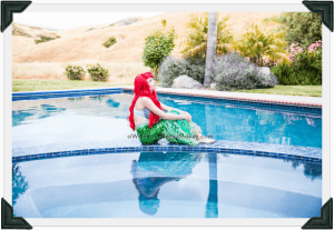 Little Mermaid parties, Central Coast and Central Valley, California