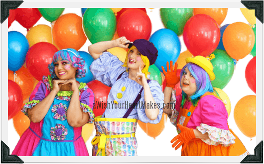 Cute Clowns parties, Central Valley & Coast, California