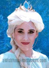 Elsa from Frozen parties, Central Valley & Coast, California