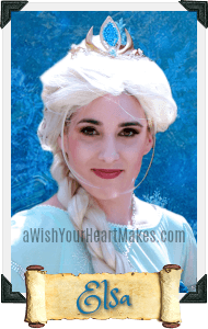 Elsa from Frozen parties, Central Valley & Coast, California