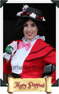 Mary Poppins parties, Central Valley & Coast, California