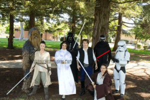 Star Wars parties, Central Valley & Coast, California