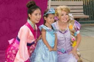 Mulan & Rapunzel princess parties, Central Valley & Coast, California