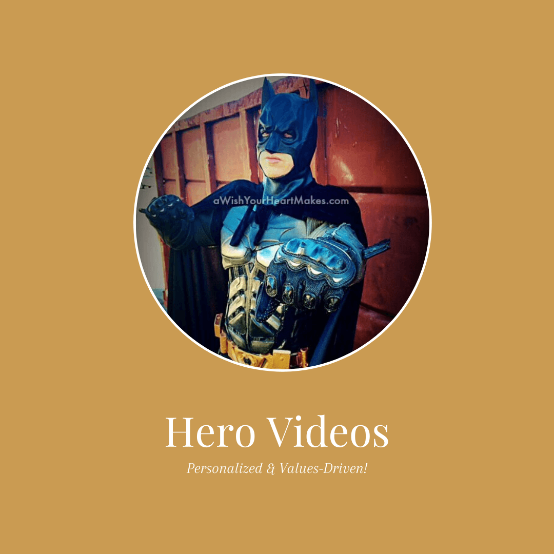 virtual super hero videos for kids
