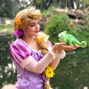 rapunzel pascal performer